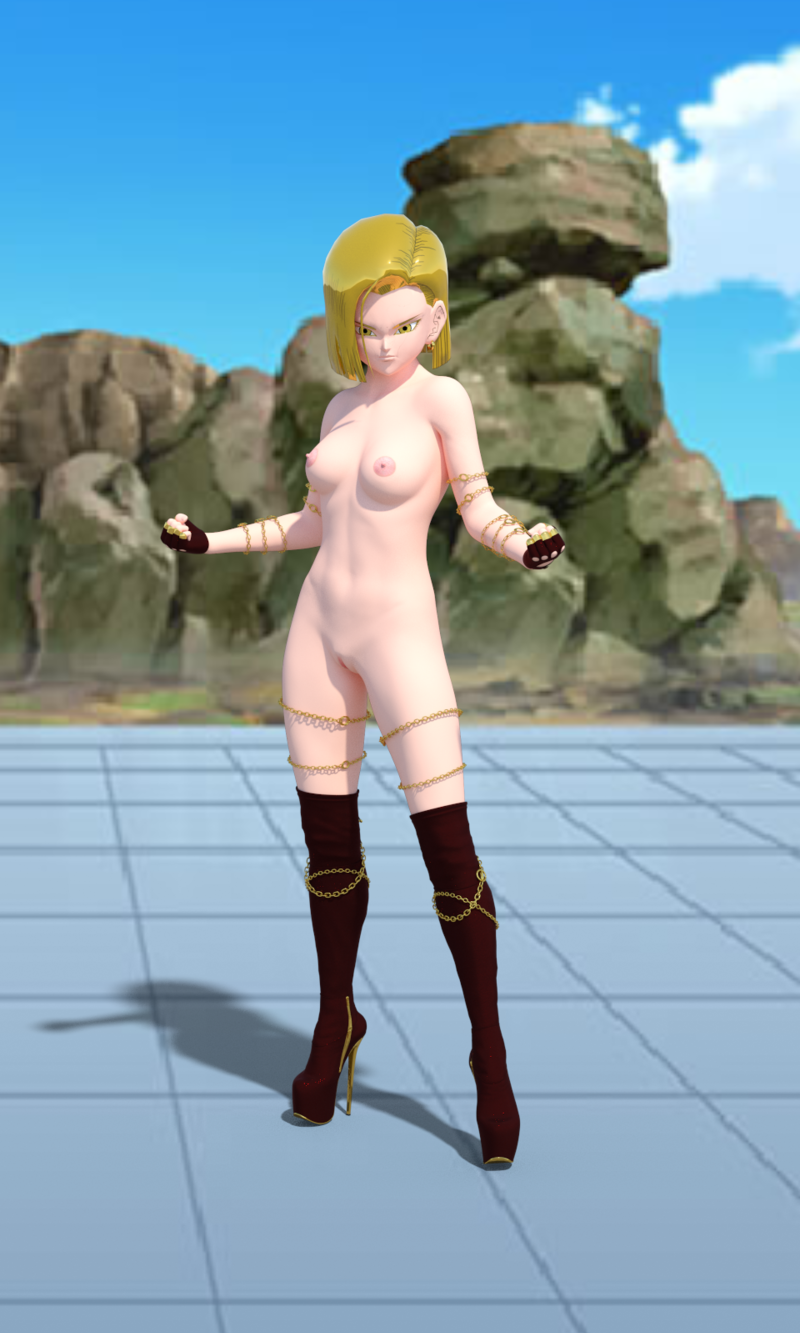 golden android 18