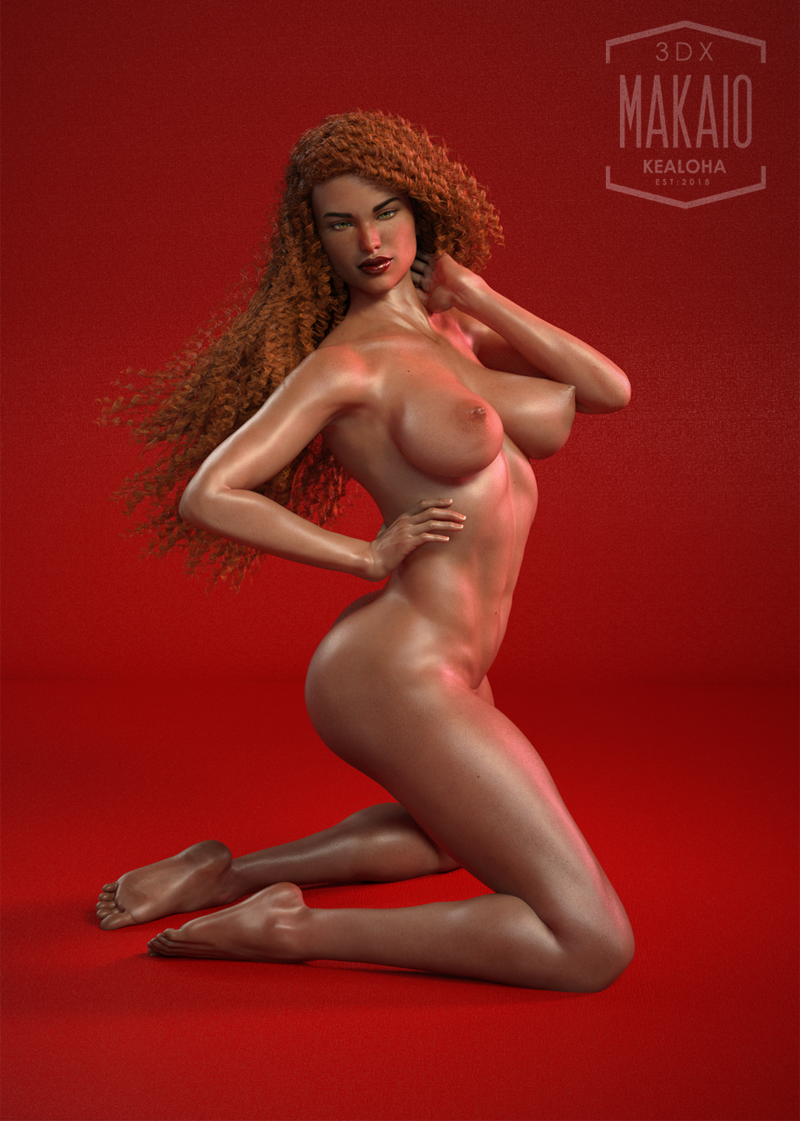 Red Hot Redhead Pinup!