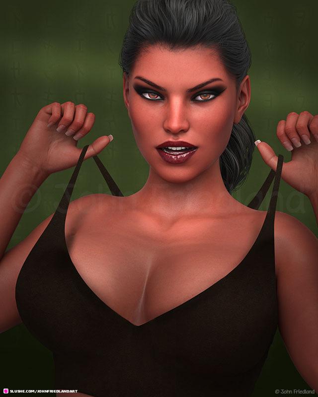 Tara pulling the strings.