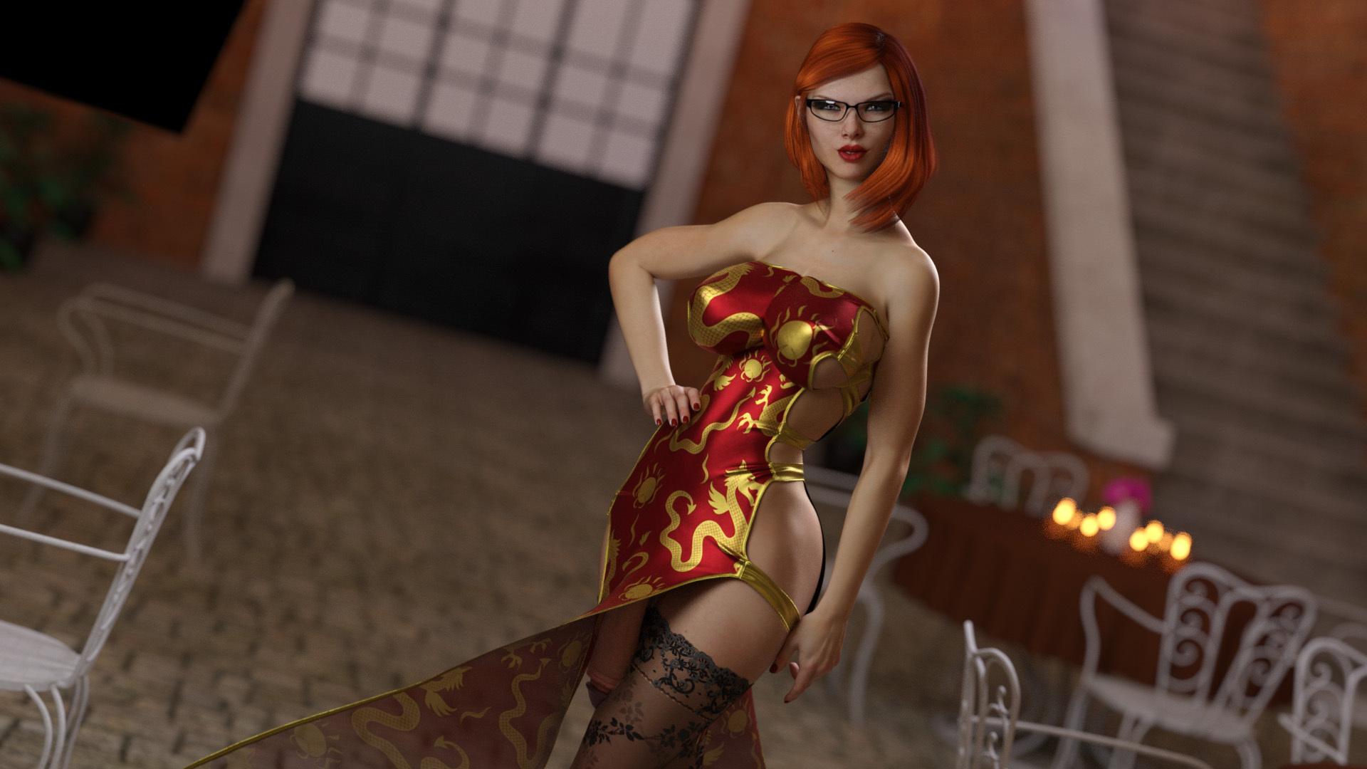 Alexa\'s party dress