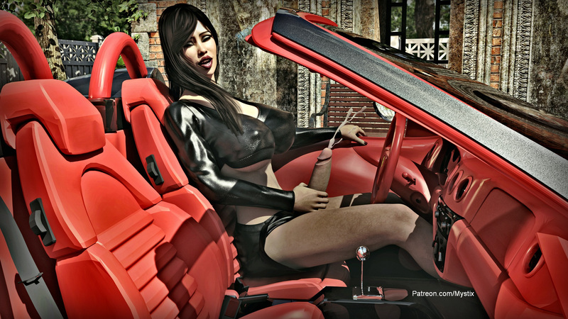 Lexi with Ferrari #3
