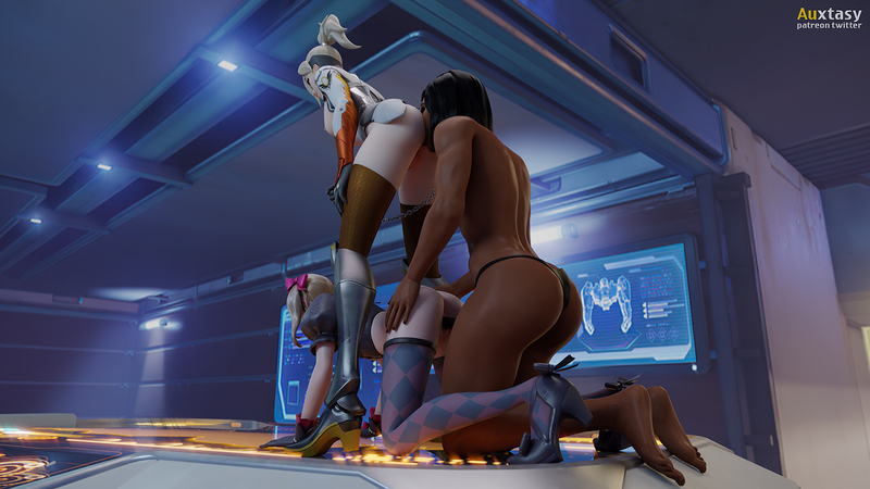 D.Va x Mercy x Pharah