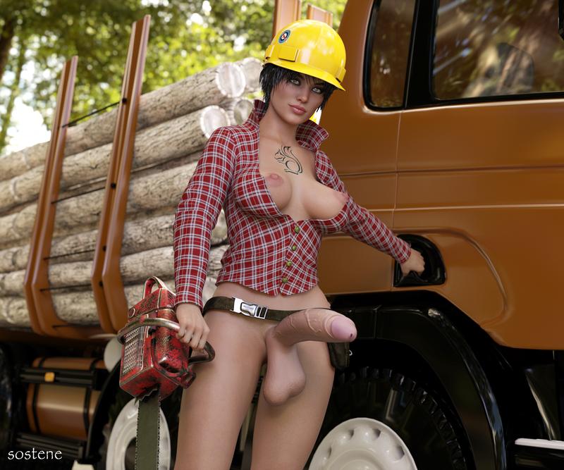 Work illustrated : Lumberjack issue