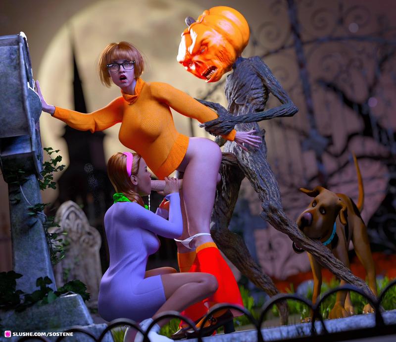 Velma's halloween night
