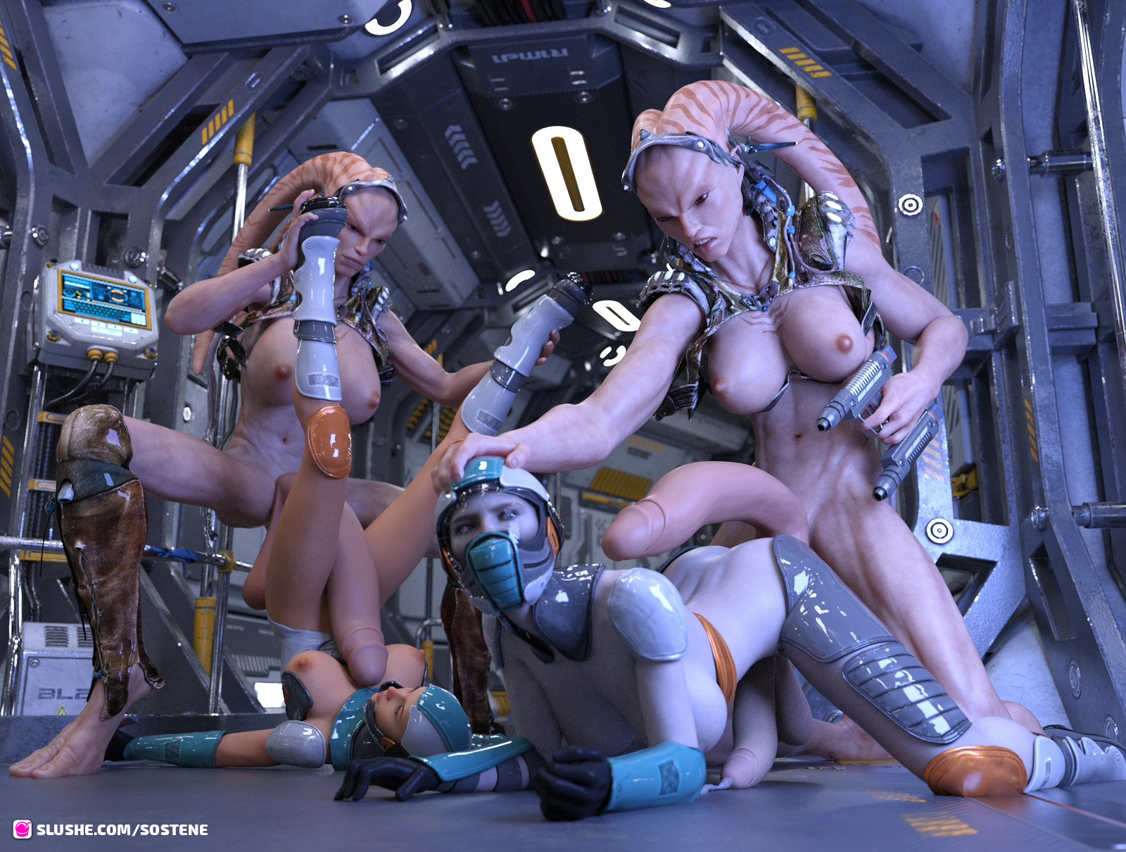 Futas from the outer space