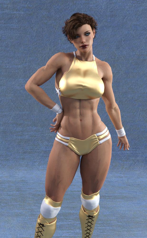 Wrestling Character