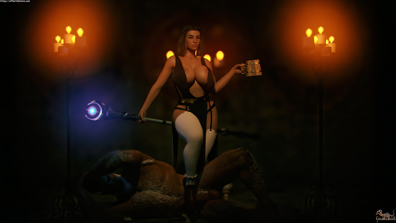 DUMMY THICC SORCERESS