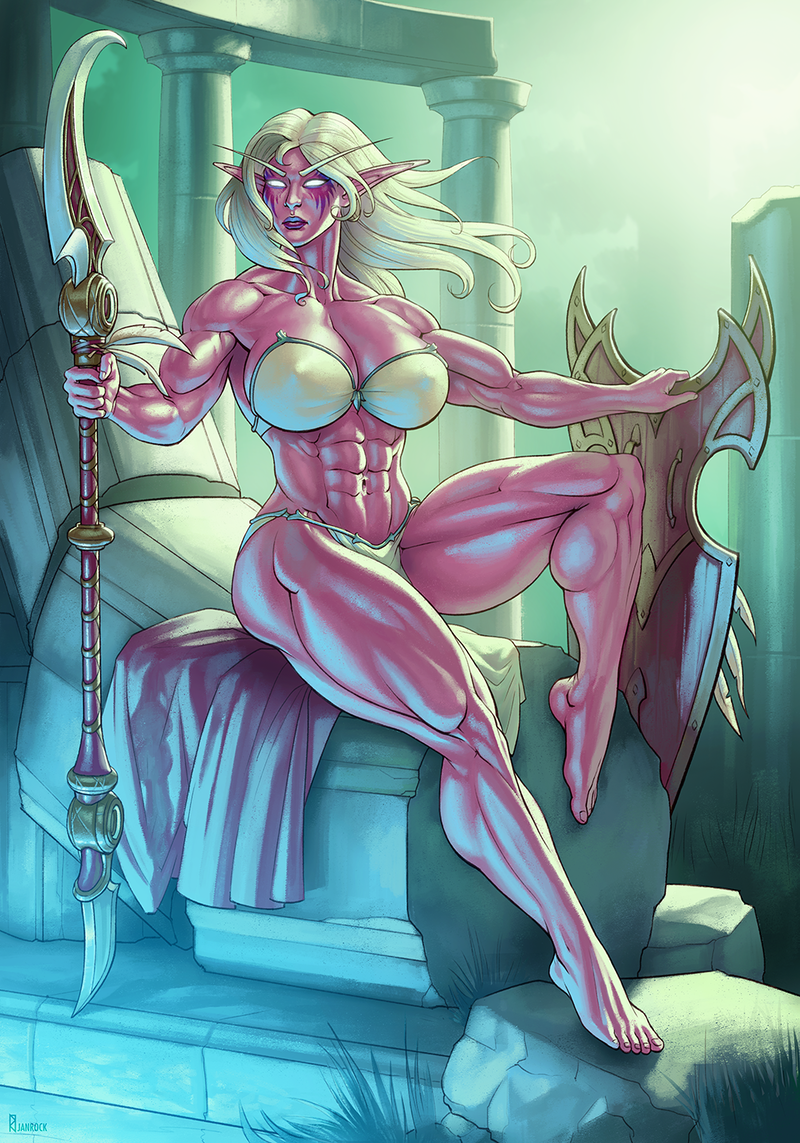 Deep in Feralas [commission]
