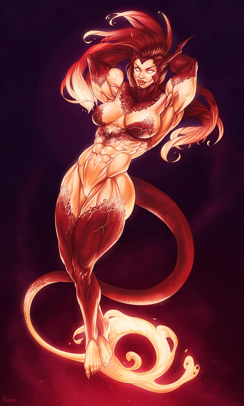 Efreet Heat [commission]