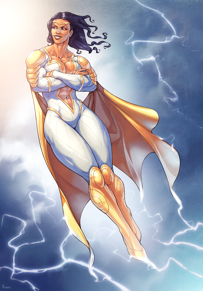 Thunder Woman [commission]