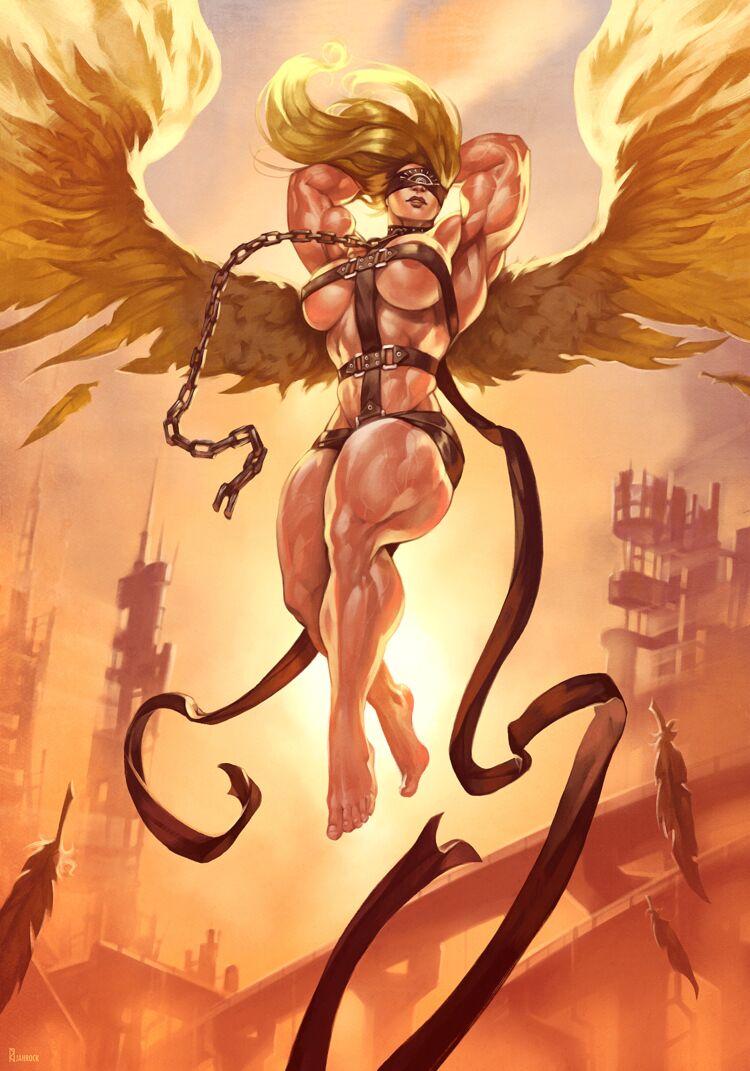 Angel's Descent [commission]