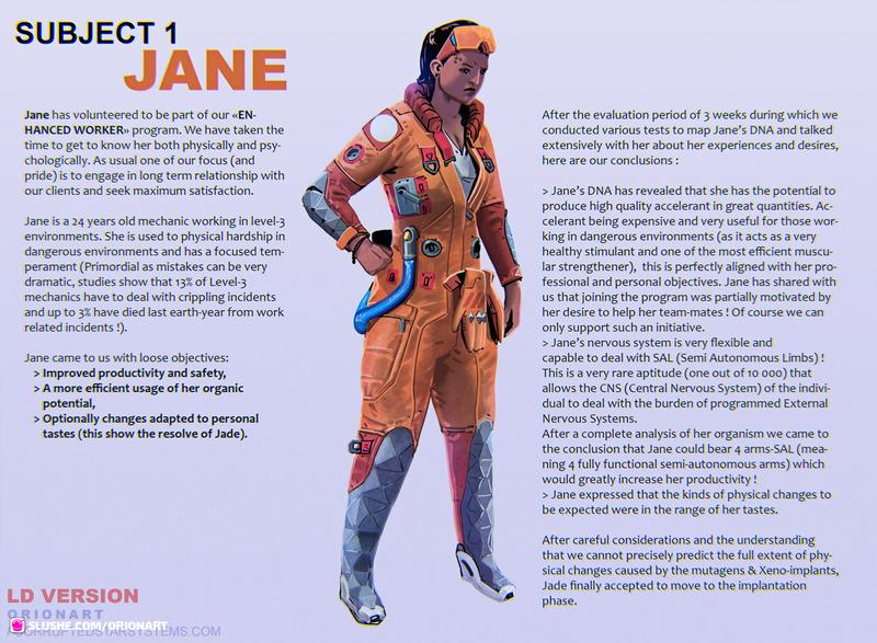 Subject 1 - Jane