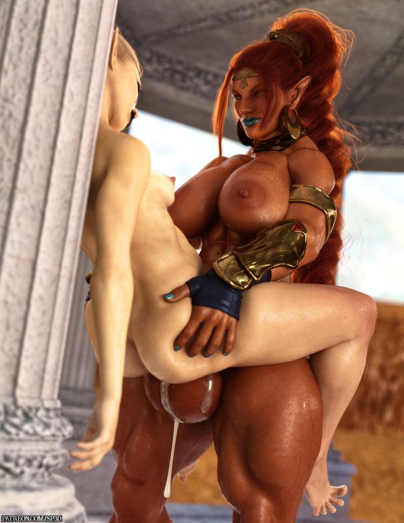 Urbosa and Rekkariel