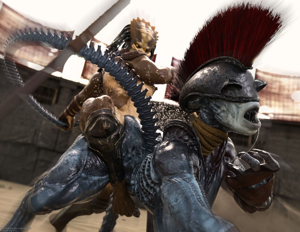 Otherworldly Gladiators