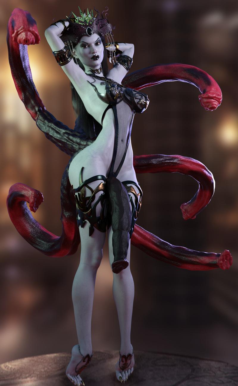 Dark Succubus Queen Imperia