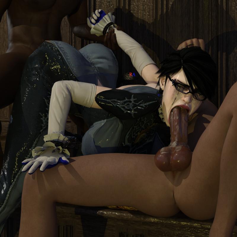 Bayonetta - Threesome