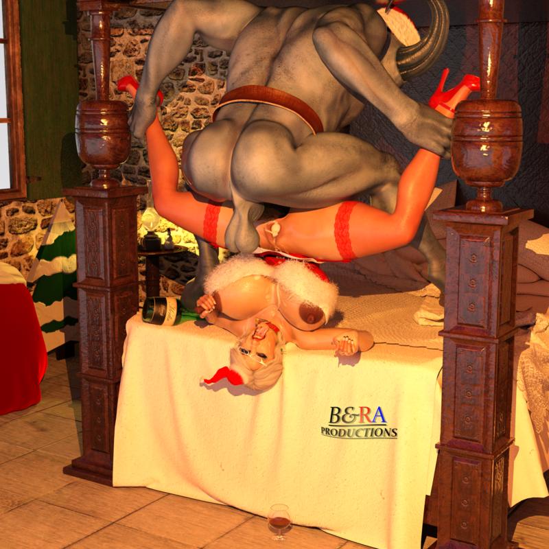 Mrs. Claus - Banging the Evil Santa