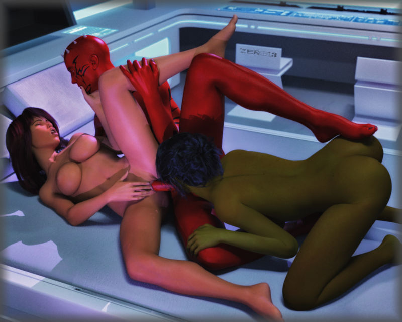 Request - Moira Threesome
