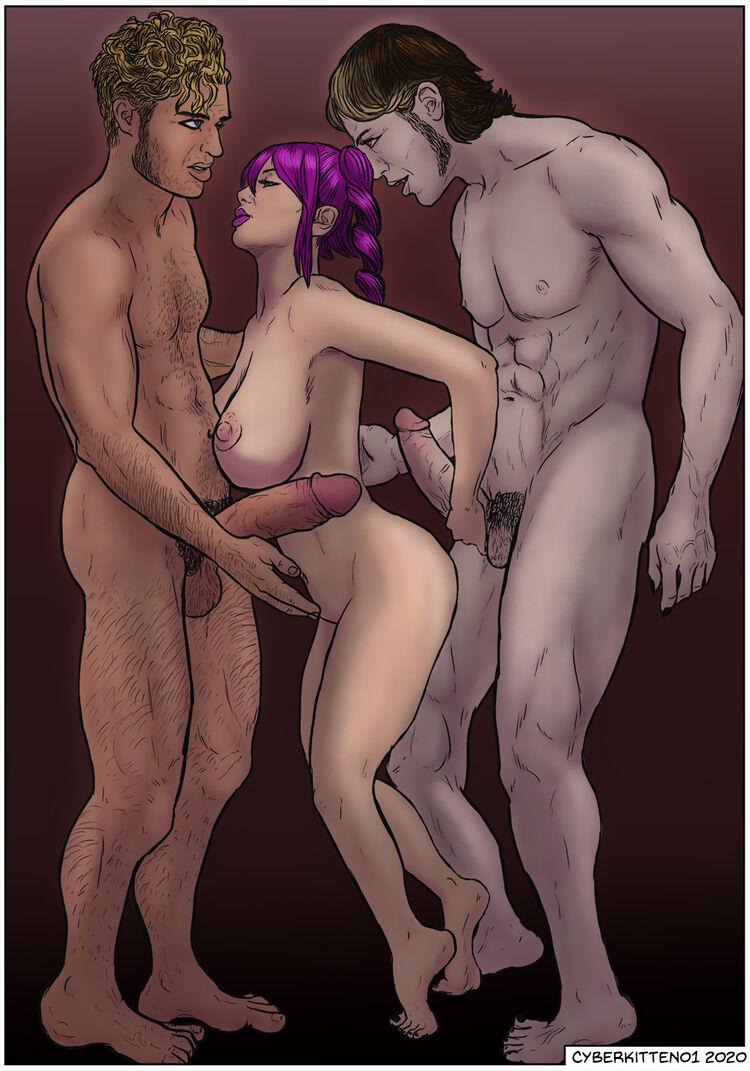 Zhao Ling, Marcus and Nico
