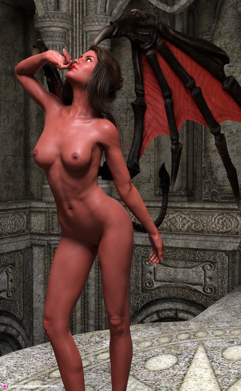 Moonlit Demoness