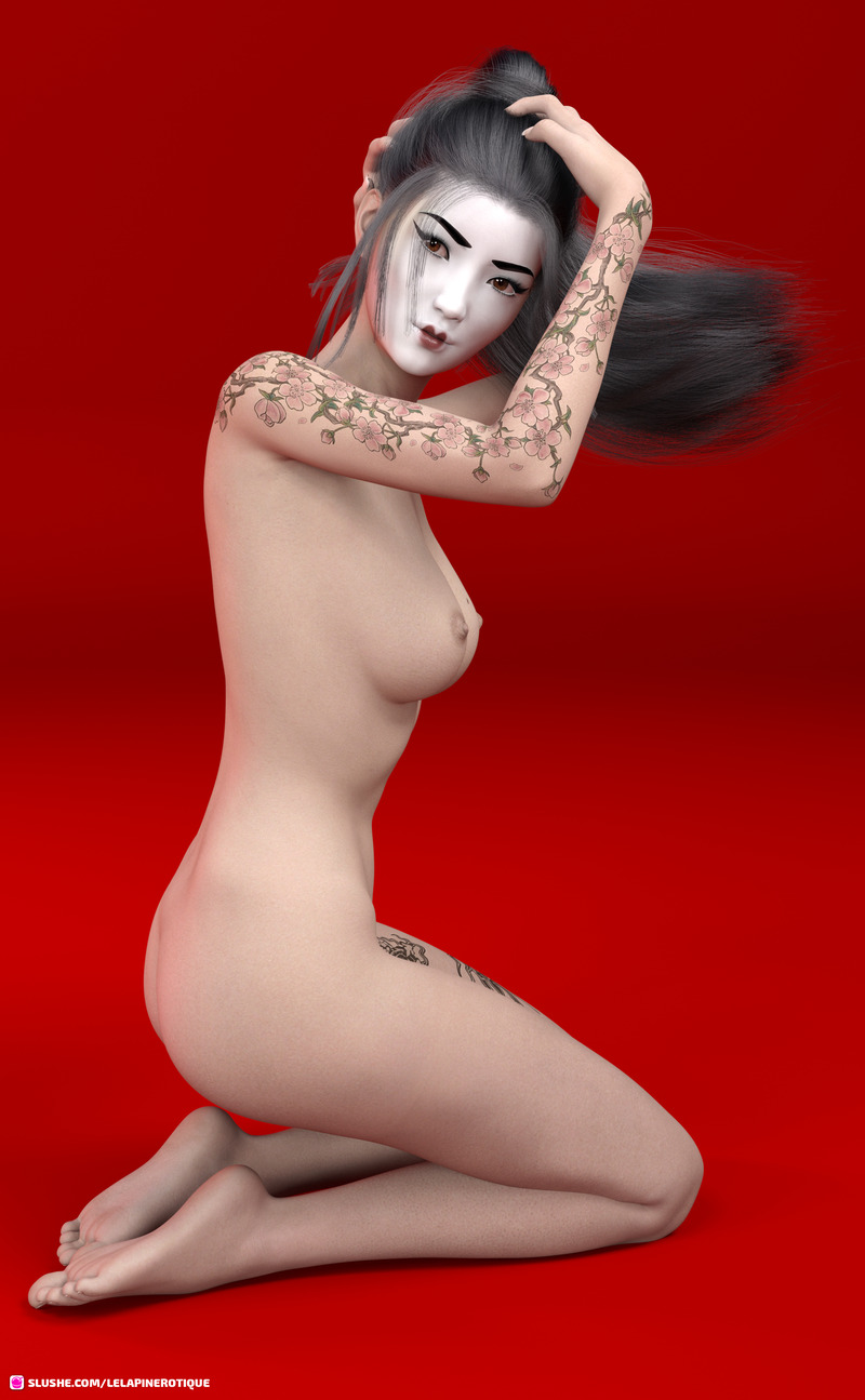 Geisha Pin Up
