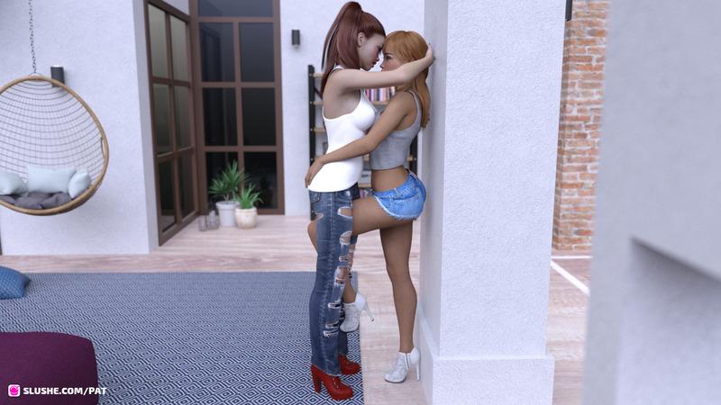 "Olivia & Sabrina - ""Night of Drunkenness Part 1"" (WIP)"