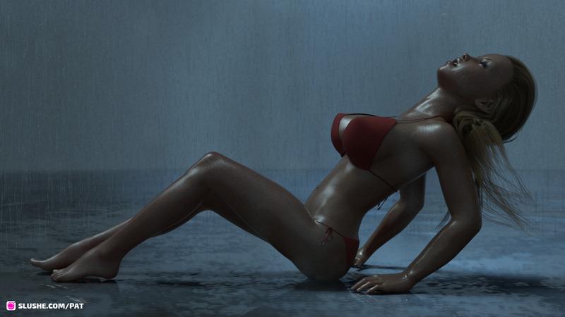 DMD fan art - Rain