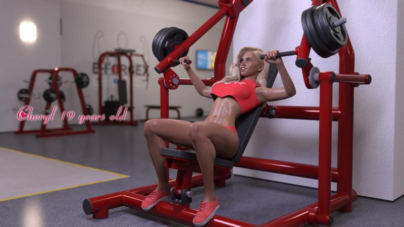 """""""Sensual Workout"""" - Cheryl"""