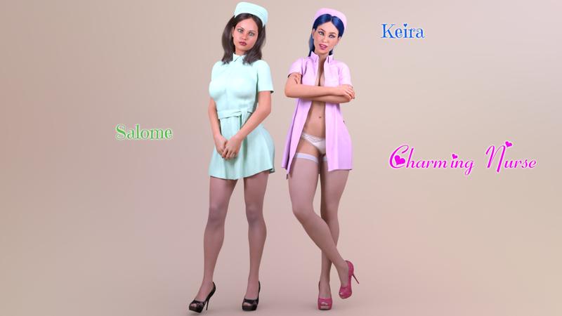 """Charming Nurses"" - Girls previews"
