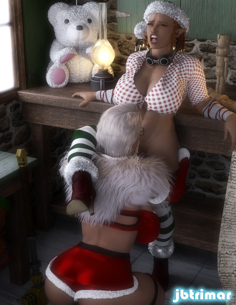 Mrs. Claus Gifting Time