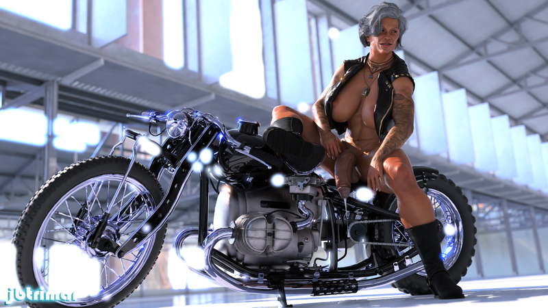 Biker GILF Sydney