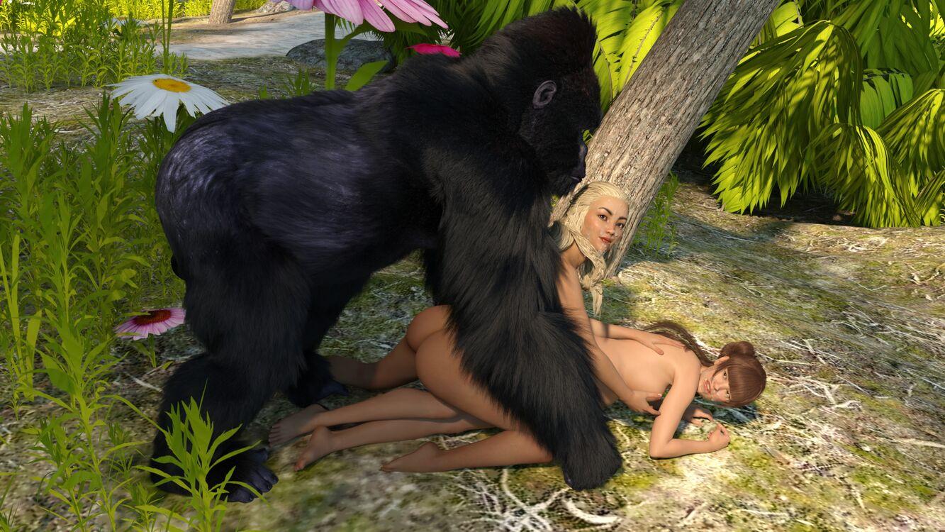 Jane and Gorilla, 6th set