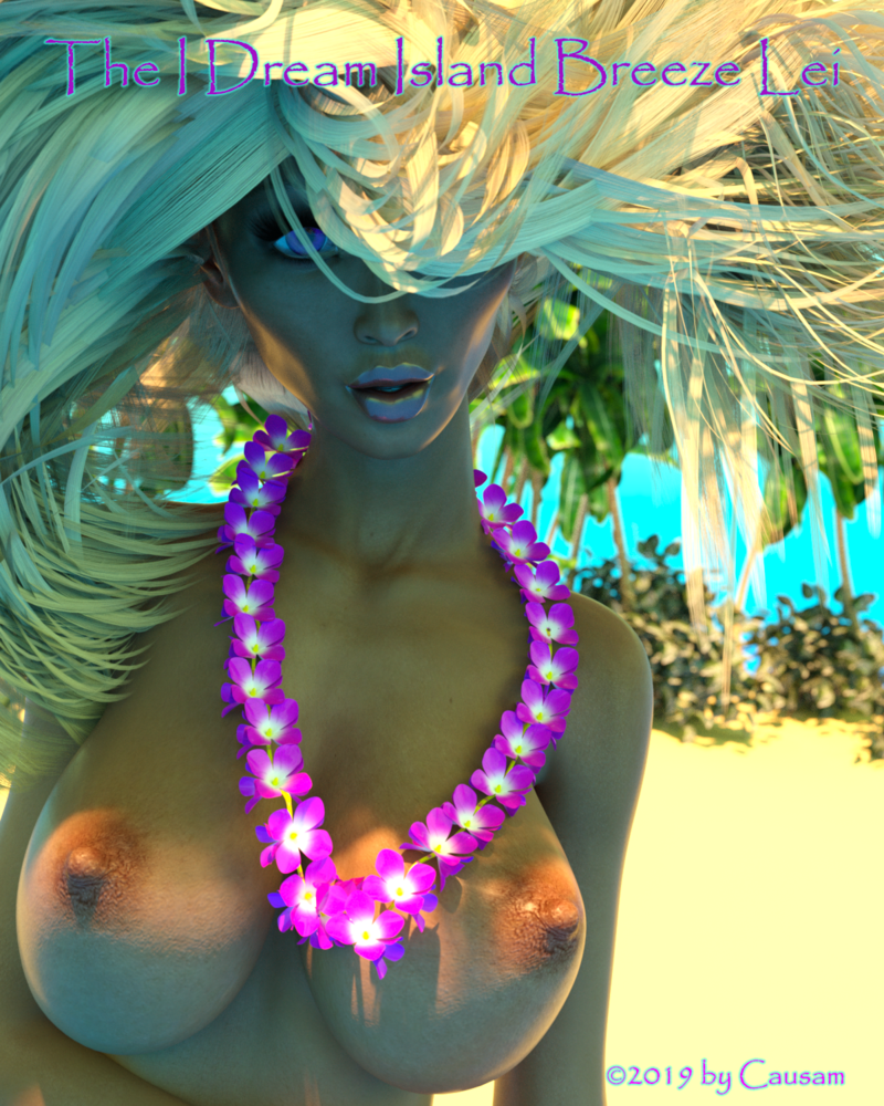 I Dream Island Breeze Lei