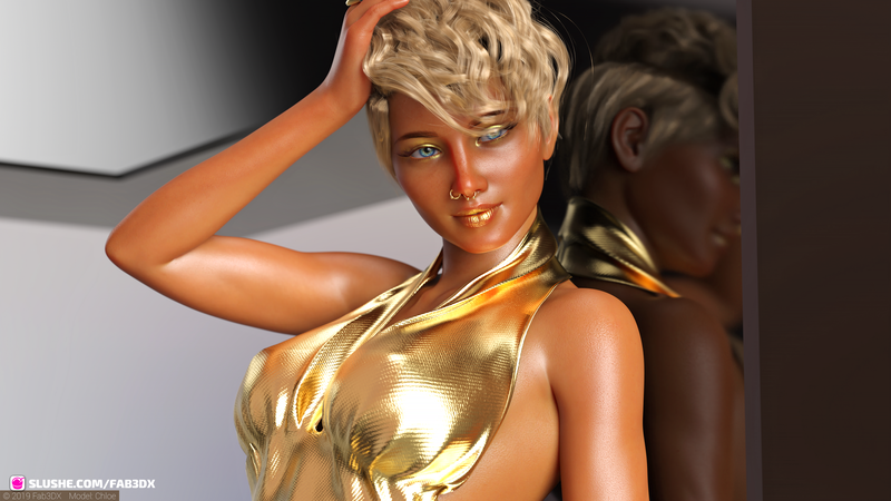 Chloe aka Goldie - WIP Char Preview