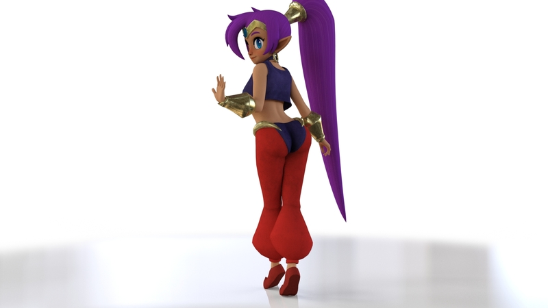 Daz3D Shantae Booty