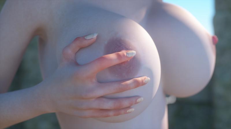 Needless Nipple Rub Gifs