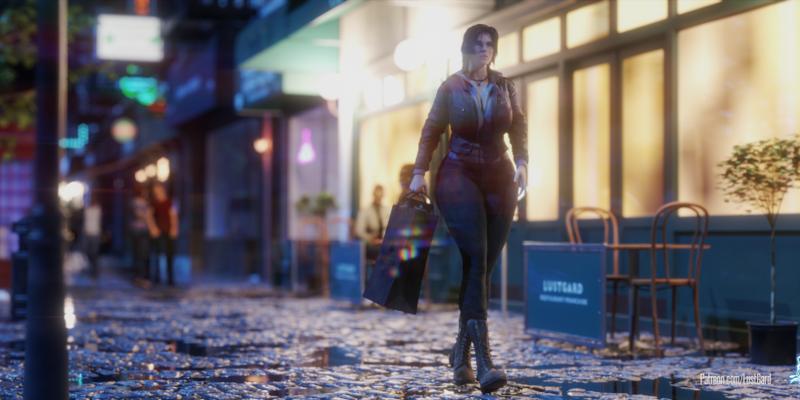 Lara went shopping!