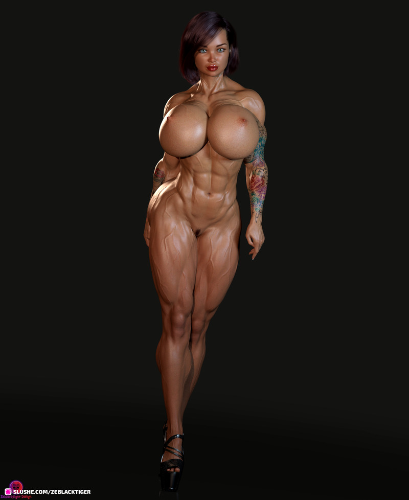 Maeve Muscular Preset Bodybuildershape