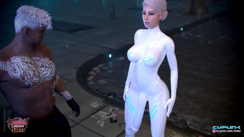 Cyber Punk Sophia wants to Fuck Cerene