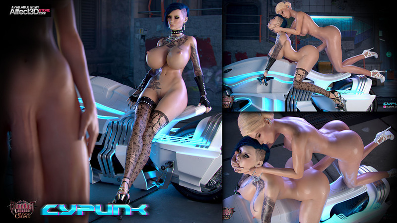 New Release at Affect3D: Cypunk