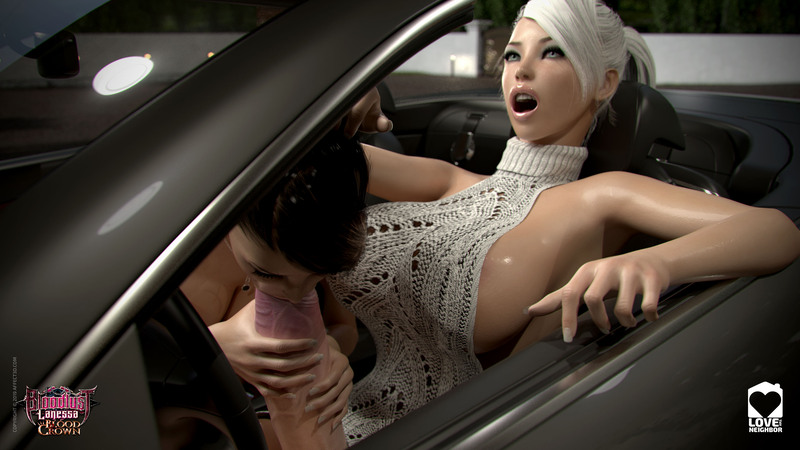 Getting Frisky In The Car