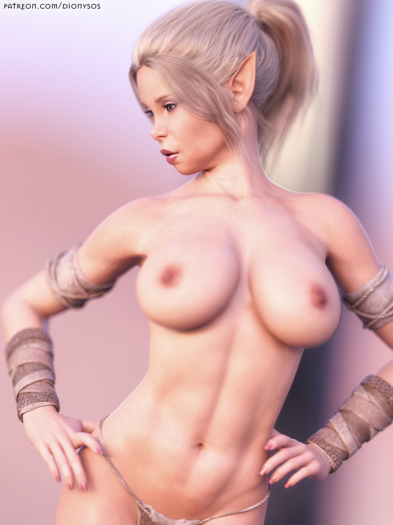 Busty Elf Mylin - Dreamy Look