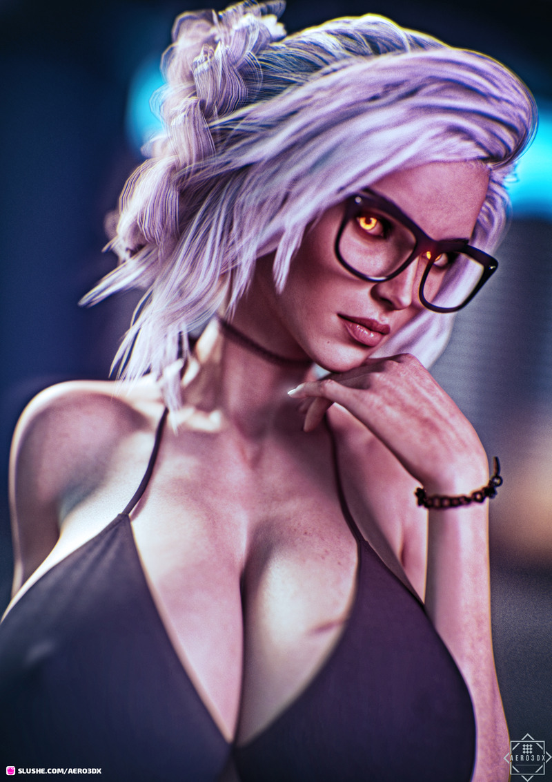 Gwen Pinup