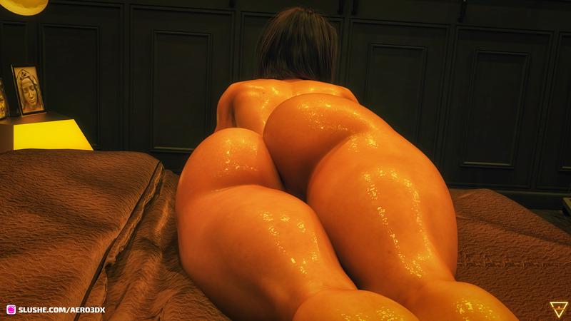 Clara Nude Pinup