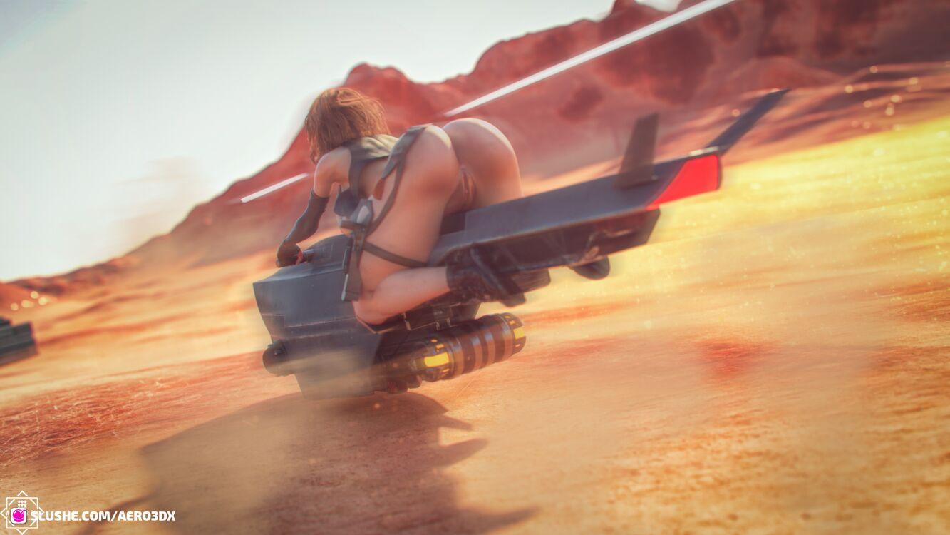 Yolanda Desert Futa Wip