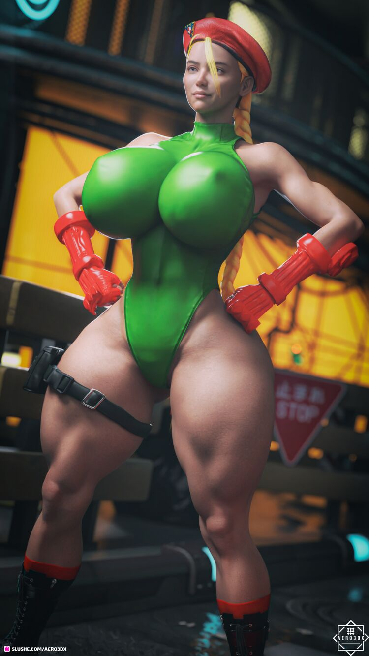 Ivannah Cosplaying as Cammy White
