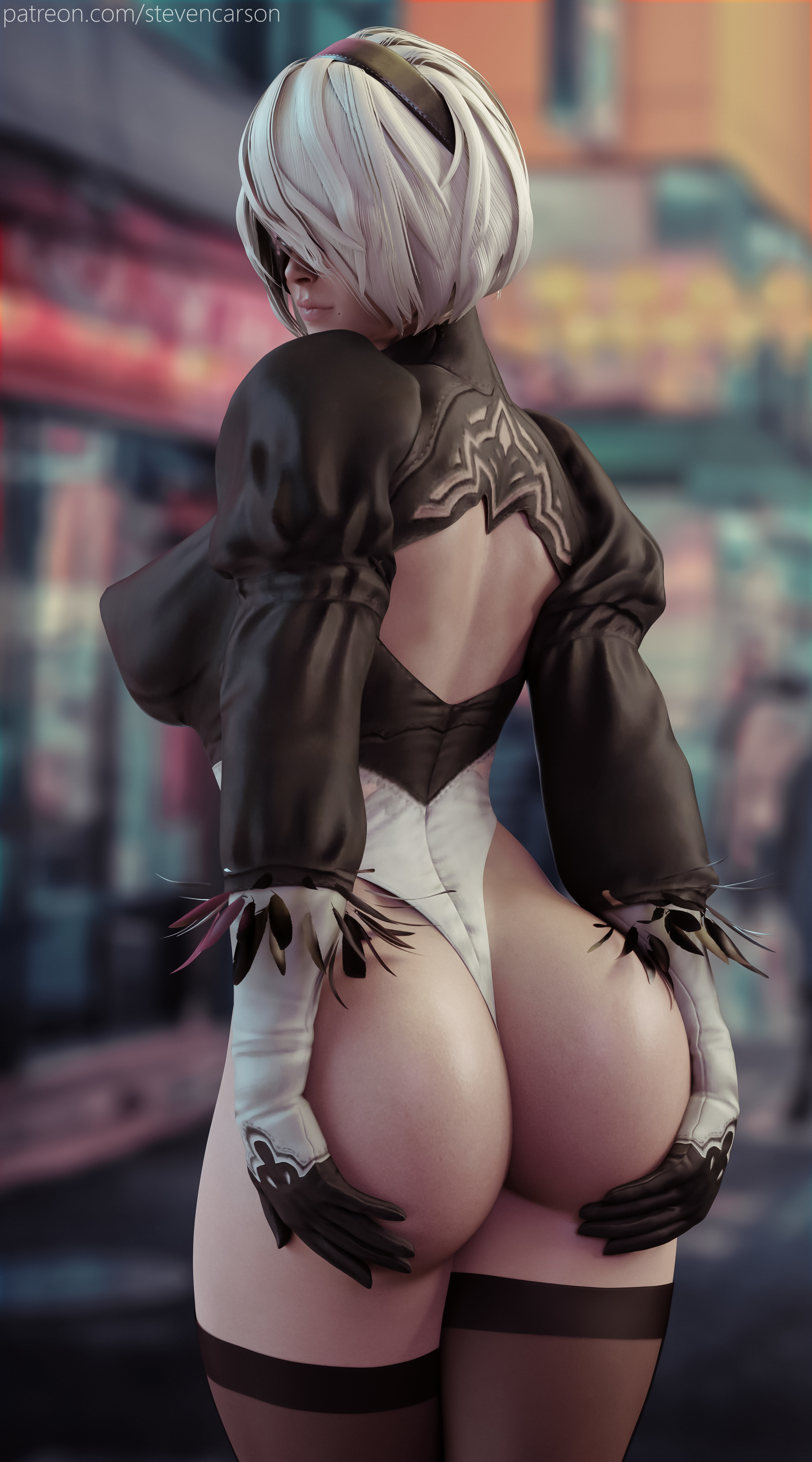 2B (Futanari & Female)