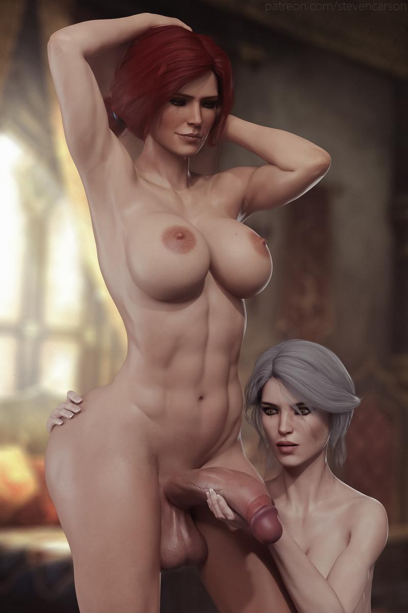 Ciri & Triss