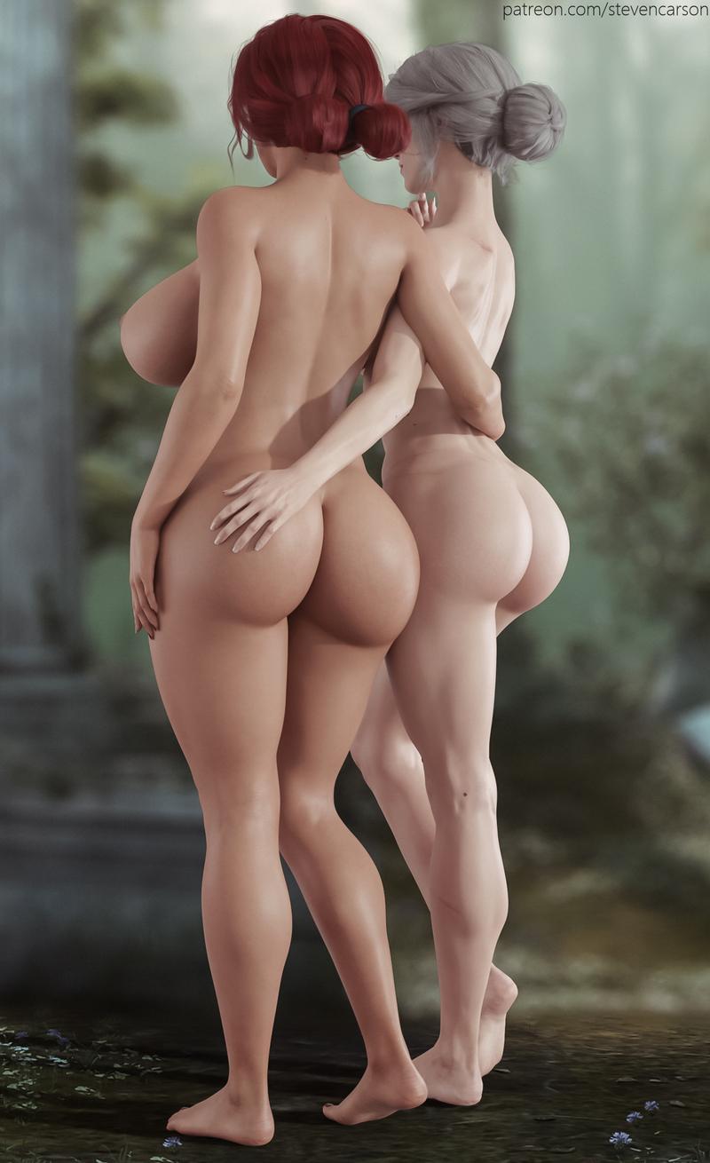 Triss & Ciri