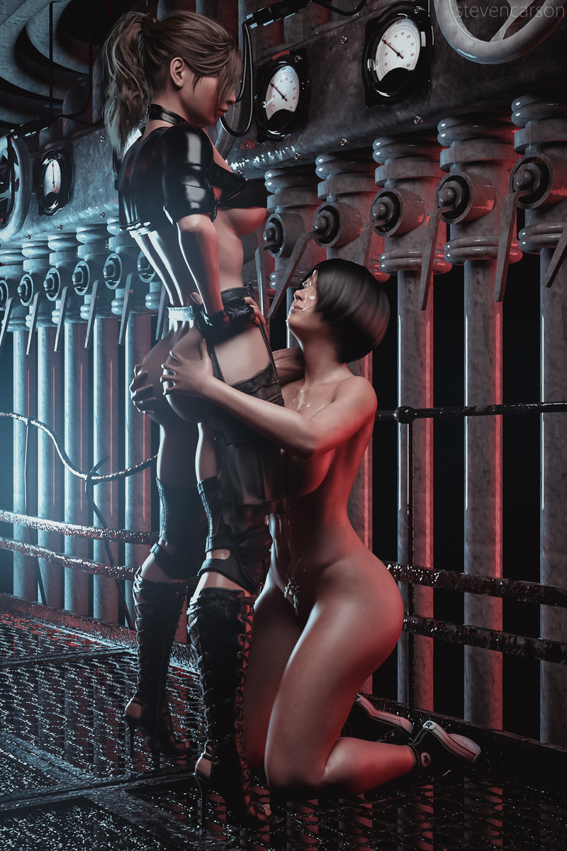 Claire Redfield & Ada Wong